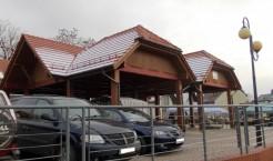 Targowisko miejskie przy ul. Młoszowskiej w Trzebini (Fot.: Robert Siwek).