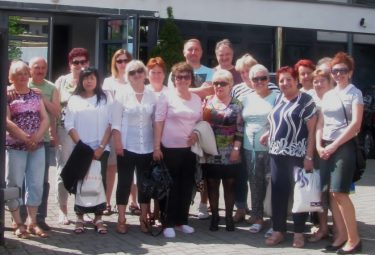 Seniorzy z Myślachowic uwielbiają wspólne wyjazdy turystyczne (Fot.: Koło PZERiI nr 11 w Myślachowicach).