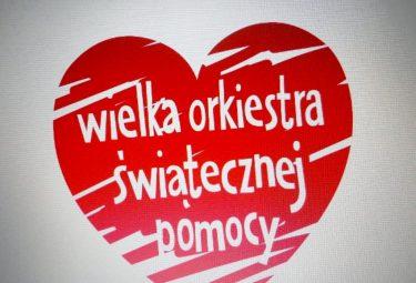 Serduszko Wielkiej Orkiestry Świątecznej Pomocy (www.facebook.com/wosp)